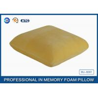 Adults Healthy Memory Foam Throw Pillow / Back Cushion For Car / Home And Office Manufactures