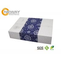 China Fashion Rectangle Embossing Printing Flower Paper Box With Lids wholesale
