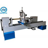 4 Axis CNC Wood Turning Lathe Machine For 3D Turning Carving Broaching Manufactures
