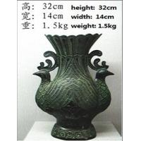 bronze antique imitation Peacock Bottle Manufactures