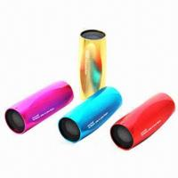 Hi-fi Speakers for iPod/iPad/ipPhone/MP3, Portable, Red/Blue/Yellow/Orange/Purple/Pantone Number Manufactures