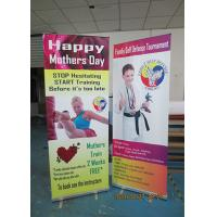 Light Weight Table Top Banners Display Interior Print Automatically Manufactures
