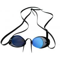 Scuba Diving Equipment Comfortable Swim Goggles For Adults / Youth Anti - Fog Manufactures