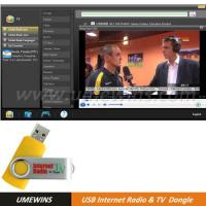 USB Internet Radio & TV Dongle (Model#RT-00321) Manufactures