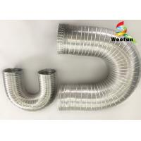 Ventilation System Aluminum Air Duct Flexible Air Intake Hose 3 Inch Compressible Manufactures