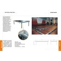 Outdoor Event Movable Portable Stage Platform 1000mm X 2000mm With Guardrails / Stairs Manufactures