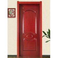 China Moisture Resistant MDF Door Skin With Melamine Mold Finishing Surface 1900mm-2150mm on sale