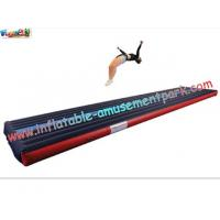 Popular Air Tumbling Inflatable Track, Inflatable Sports Games Track With Different Size Manufactures