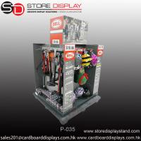 China Custom Point-of-Purchase Display with hooks in four sides Manufactures