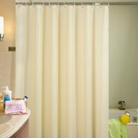 China Non Toxic PEVA Shower Liner , Water Repellent Fabric Shower Curtain on sale