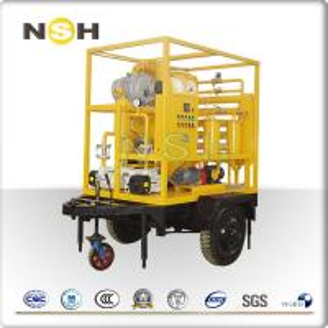 China Portable Vacuum Transformer Oil Dehydration Machine Oil Purifier Separation Equipment on sale