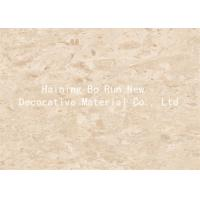 Marble Design Interior Pvc Sheet Film , Wall Panel Hot Foil Rolls Fire Proof Manufactures