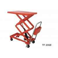 Mobile Electric Table Lift System , Metal Lightweight Scissor Lift Table Manufactures