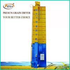 Low Temperature Circulating Grain Dryer / 8-15 Tons Dhal Electric Grain Dryer Manufactures