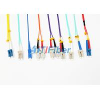D4 SMA Fiber Optic Pigtail with Simplex , Duplex Optical Fiber Cable Manufactures