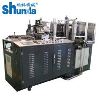 Full Automatic Straight Cup / Paper Tube Forming Machine Air compressor 0.5 M³ / Min Manufactures