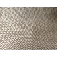 China polyester herringbone cationic suede fabric on sale