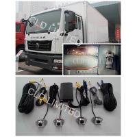360 ° Around  View Lorry Cameras System monitor AVM  With 4 channel DVR,  Safety Driving Assistant for Trucks and Buses Manufactures