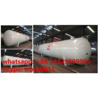 CLW brand 24 metric tons stationary surface lpg gas storage tank for sale, ASME standard 24ton surface propane gas tank Manufactures