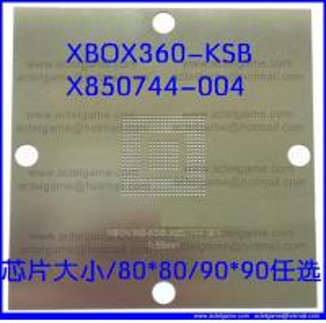 Xbox360 BGA Stencil KSB X850744-004 XCGPU X818337 Xbox360-GPU-B repair parts Manufactures