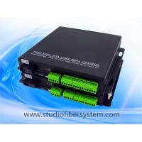 8CH balanced audio over fiber extenders with Phoenix connectors for remote broadcast/studio system Manufactures