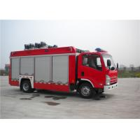 139kw 4x2 Drive ISUZU Chassis Light Fire Truck With LED Light Source Manufactures