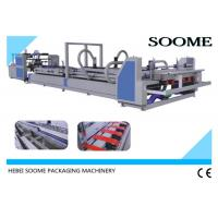 2800 Model Automatic Folder Gluer Machine / High Speed Corrugated Cardboard  Making Machine Manufactures