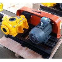 Buy cheap high chrome/rubber lined horizontal centrifugal slurry pump for mining from wholesalers