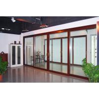 China CR180 Modern Aluminum Sliding Glass Doors, Customized Interior Sliding Glass Door Factory For Bedroom on sale