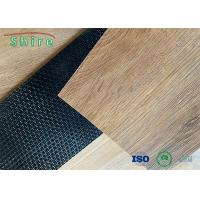 Commercial Decoration Glueless Loose Lay Vinyl Plastic Flooring With Wooden Pattern Manufactures