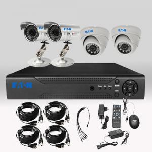DIY Security 4CH AHD DVR 1200TVL 720P 1.0MP HD Security Camera Surveillance System Manufactures