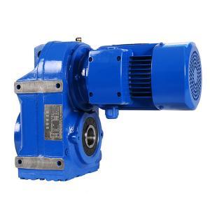 0.18kW F57/F67/F77 Ratio 127.17/170.85/195. 110 volt ac gear motor Manufactures