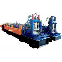 China 12~25 M/Min CZ Purlin Roll Forming Machine Adjustable Speed Strong Structure on sale