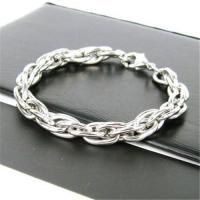 China Fashionable stainless steel bracelet on sale