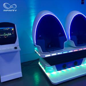 3 Seats 9D VR Simulator 360 Egg Cinema VR Chair Arcade Game Machine Manufactures