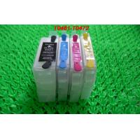 PP 15ML Refillable ink cartridge T0741-T0744 for Epson Desktop Printer with permanent chips Manufactures