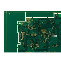 6 Layers HDI Printed Circuit Boards Green 1oz Copper ENIG PCB Manufactures