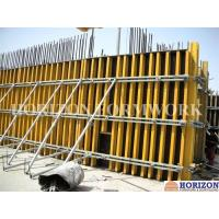 Concrete Wall Formwork System With H20 Wooden Beam and Steel Walers Manufactures