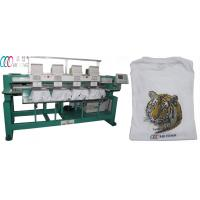 Automatic 4 Head computerized Embroidery Machine for hats / towel