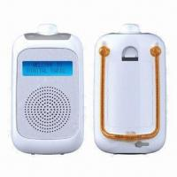 China Water-resistant AM/FM Radios, Measures 16.1 x 9 x 6.3cm on sale