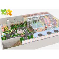 China Kids Zone Plastic Indoor Playset , Soft Play Structures Unique Design Non Toxic Material on sale