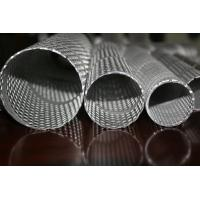 316L / 304 Stainless Steel Punching Pipes For Automobile / Motorcycle Silencers Manufactures