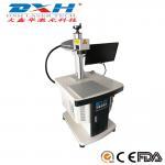 Mini Portable Fiber Laser Marking Machine 20 Watt For Hardware / Cutting Tools Marking Manufactures