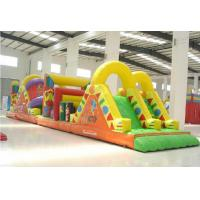 Blast Zone Pirate ' S Bay Inflatable Amusement Park , Inflatable Obstacle Course Manufactures