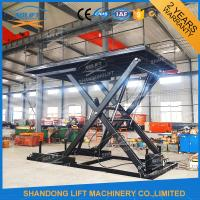 Four Cylinders Hydraulic Platform Lift With CE Manufactures