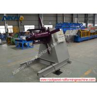 China 12-15m/Min Auxiliary Equipment Hydraulic De Coiler 3 Tons Capacity on sale