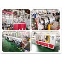 Speed 28m / Min Plastic Pipe Making Machine For 3 Layer PPR Glassfiber Tube Manufactures