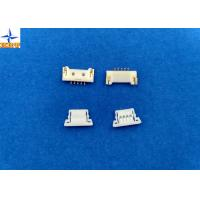 Quality 1.25mm Pitch usb Circuit Board Wire Connectors With Lock Structure PA66 / LCP Material for sale