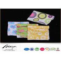 China 80% Polyester 20% Polyamide microfiber polishing cloth / towels with Heat Transfer Print on sale