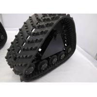 Low Ground Pressure Snowmobile Track System , Vehicle Pickup Track System Manufactures
